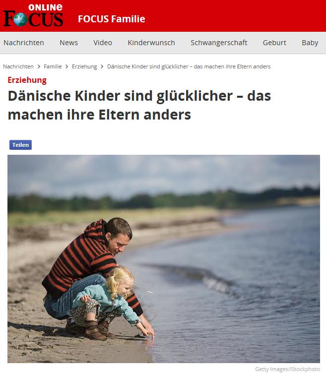 Artikel: Dänische Kinder sind glücklicher – das machen ihre Elternanders